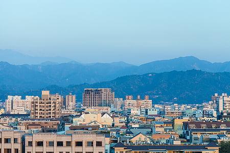 el paisatge, cel blau, Taiwan