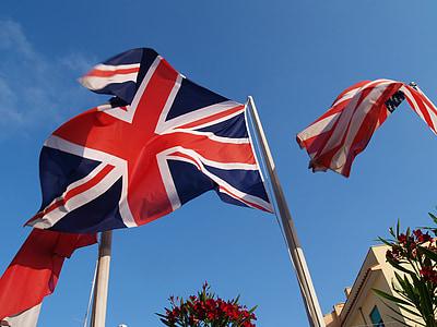 lá cờ, tiếng Anh, Hoa Kỳ, Hoa Kỳ, Vương Quốc Anh, rung, màu đỏ