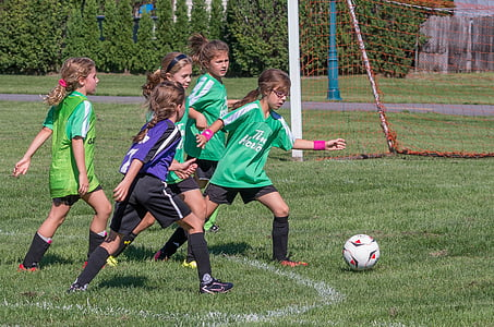 soccer, sport, summer, playing, soccer ball, child, boys