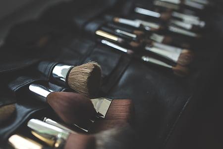 笔刷, 笔刷, 弥补, 化妆, 化妆, 时尚, 美容产品
