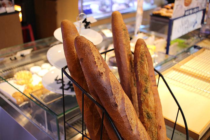 baguette, leib, Pagari, sai, baguette leib, toidu