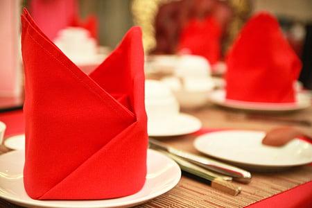 configuració de taula, menjador, taula, entorn, sopar, Restaurant, elegants