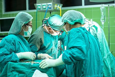Chirurgie, Aktion, Krankenhaus, Arzt, Pflege für, Klinik, Krankheit