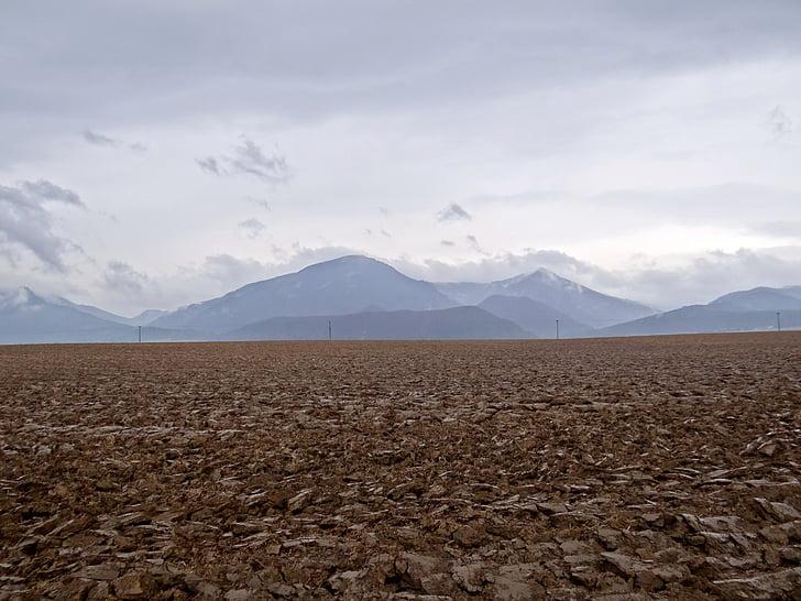 dãy núi, mùa thu, hòa bình của tâm, đám mây, cảnh quan, lĩnh vực