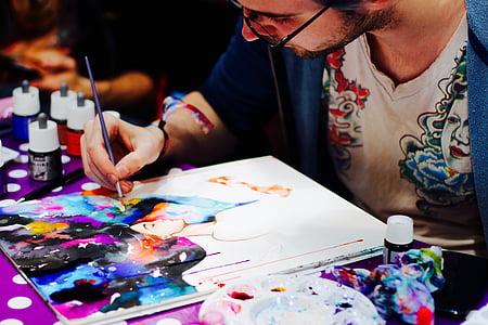 comiccon, ดอร์ทมุนด์, ยุติธรรม, การ์ตูน, ศิลปิน, เหตุการณ์, การวาดภาพ
