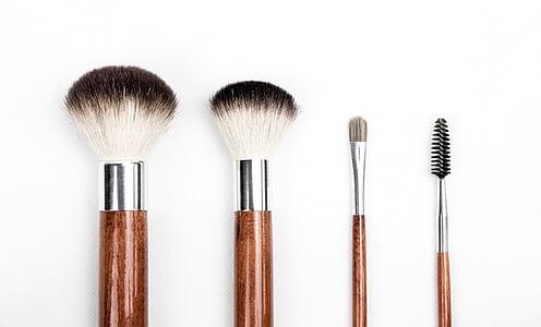raspall, brotxa de maquillatge, maquillatge, conformen, bellesa, cosmètica, l'aplicació