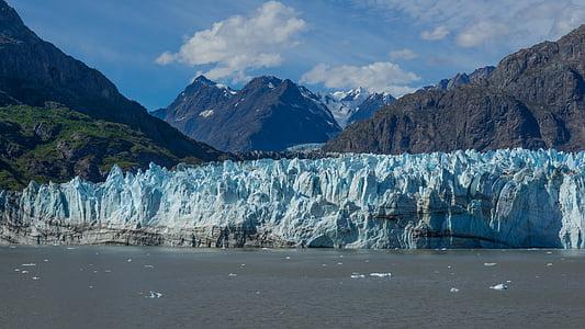 naturen, Alaska, Artic, havet, tror, havet gelé, isflak