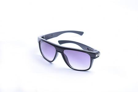occhiali, colpo di prodotto, prodotto, colpo, riflessione, Priorità bassa bianca, occhiali da vista