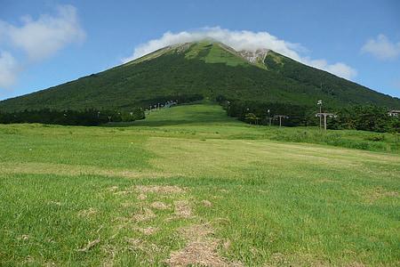 Oyama, muntanya, l'estiu