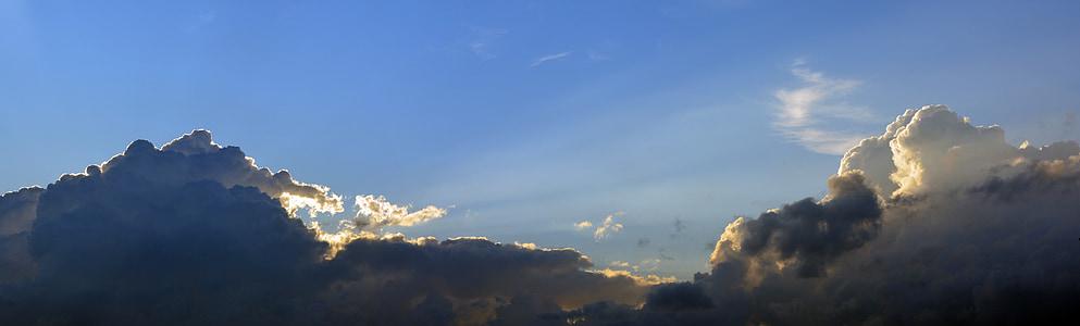 bầu trời, đám mây, đám mây đen, màu xanh, đám mây hình thức, được bảo hiểm bầu trời, bầu trời buổi tối