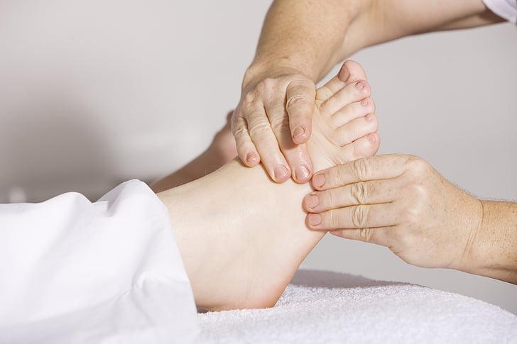 Fizioterapija, pēdu masāža, masāža, alternatīvā medicīna, skaistumu, Ķīniešu, asinsriti