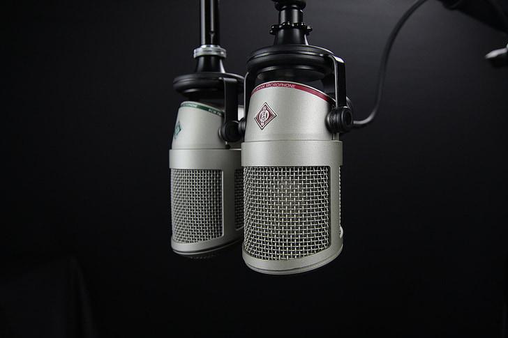 mikrofon, radio, oddaja, DJ, Studio, mediji, sporočilo