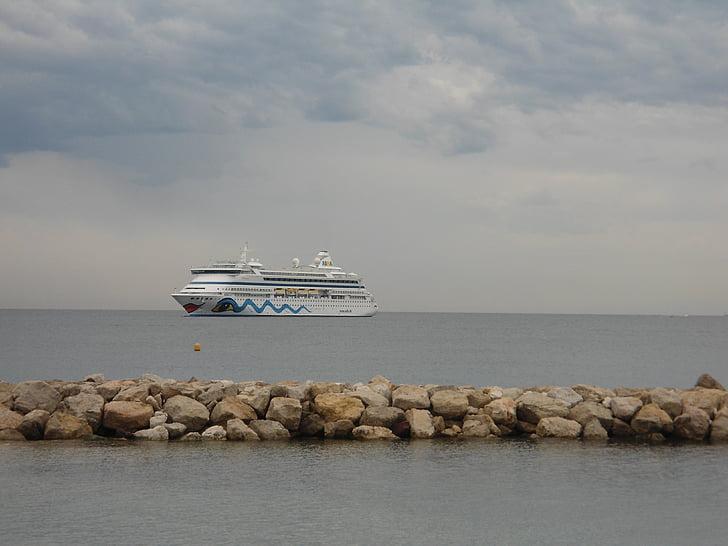 fartyg, havet, sjöfart, Aida, kryssning