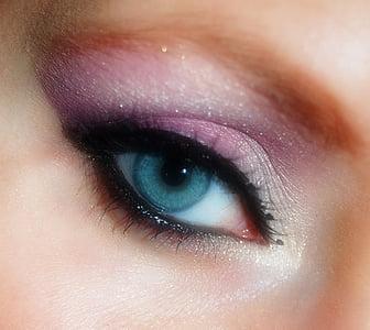 макияж, составляют, Косметика, женщина, тушь для ресниц, лицо, ресницы