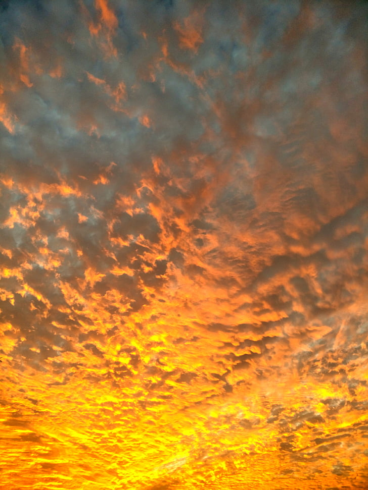 taevas, Sunset, pilve