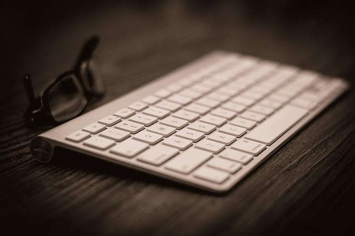 apple, technology, keyboard, computer keyboard, communication, no people, indoors