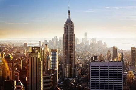 empire, state, building, Empire state building, buildings, architecture, high rises