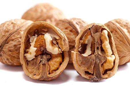 pruun, Suurendus:, krakitud, välja lõigatud, kuiv, äärmuslik suurendus:, toidu