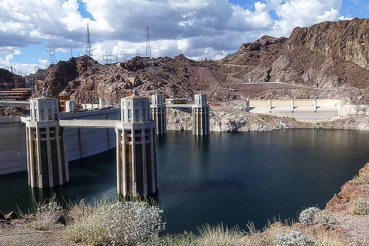 Lake mead, Hồ chứa nước, đập Hoover, Nevada, bê tông, xây dựng, địa điểm du lịch
