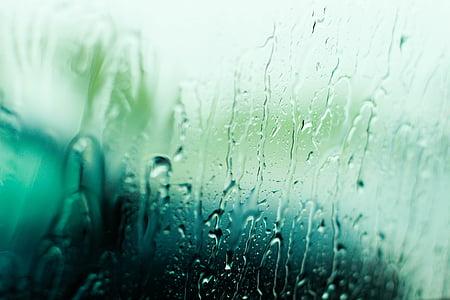 rain, blur, window, storm, background, reflection, glass
