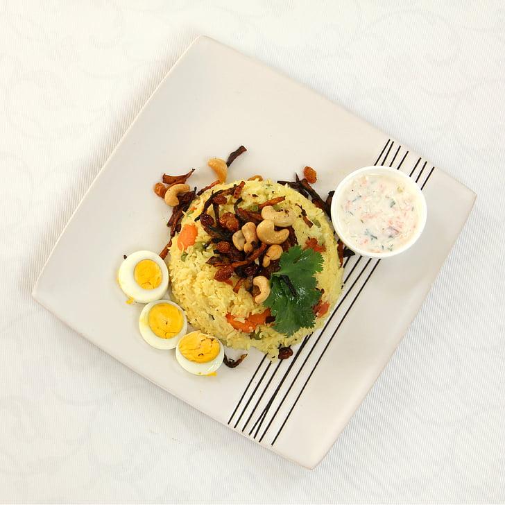 jedzenie, Płyta, talerz z jedzeniem, posiłek, kuchnia, pikantne