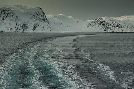 Norge, Lappland, fjorden, vakna