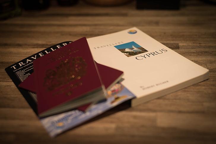 passport, travel, journey, trip, vacation, document, destination