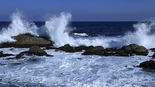 bangos, jūra, Belfast, jumunjin, mėlyna jūra, žiemos jūra, mailius