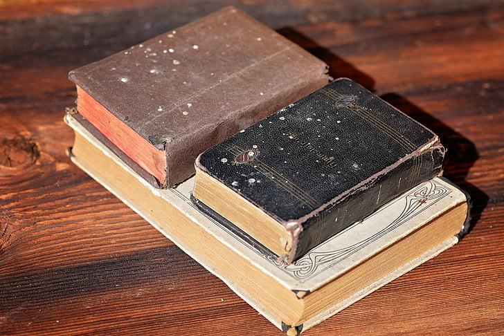 llibre, llibres, vell, llibres antics, mobles, utilitzat, fusta