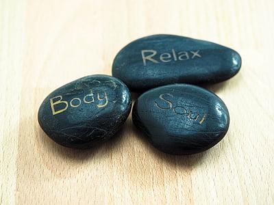 Chăm sóc sức, đá, thư giãn, Zen, thiền định, cân bằng, phục hồi