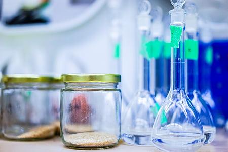 jar, copo, laboratório, líquido, Copa, garrafa, ferramenta
