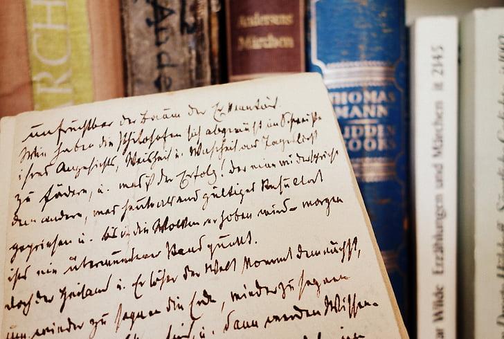 llibre, llibres, literatura, vell, tipus de lletra, llegir, llibres antics