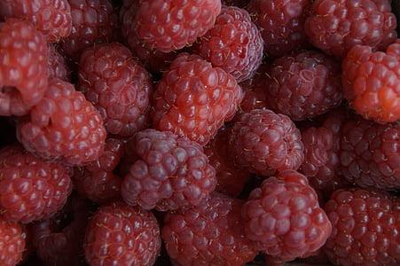 marjad, vaarikad, punane, struktuur, tekstuur, taust, puuviljad