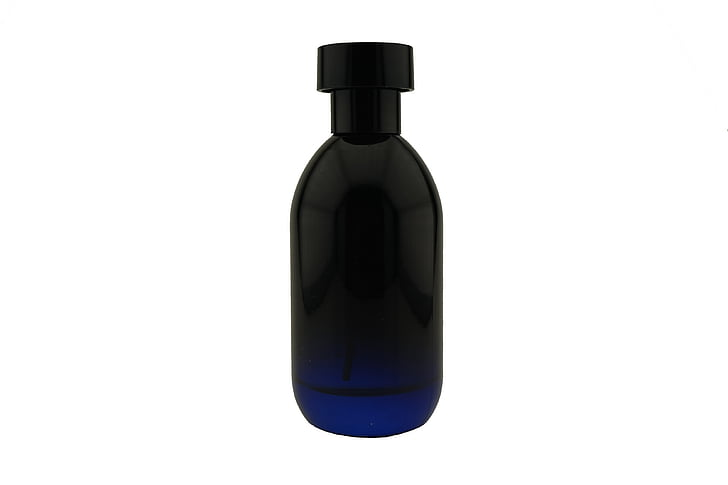 bottle, perfume, male, glass, black
