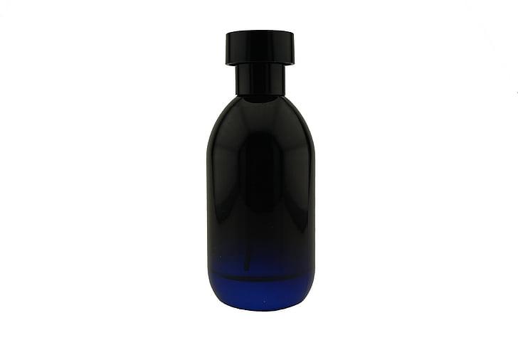 pudel, Parfüümid, mees, klaas, must