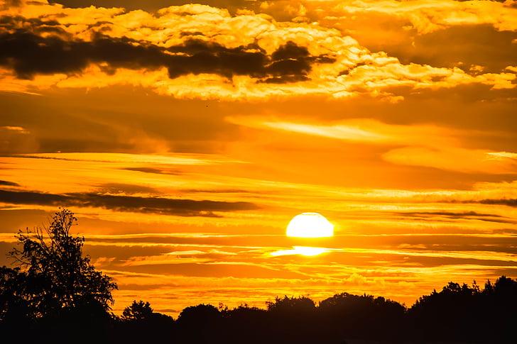soluppgång, solen, Dessutom, humör, Sky, Skies, morgonsolen