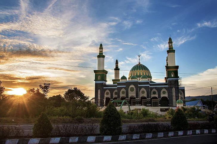 Meczet, lebong, Bengkulu, Indonezyjski