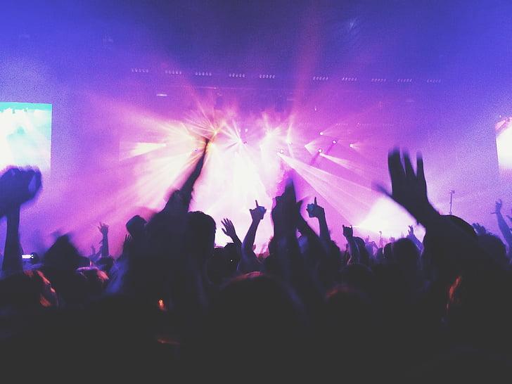 buổi hòa nhạc, âm nhạc, đám đông, dancings, vũ công, moshpit, Mosh pit