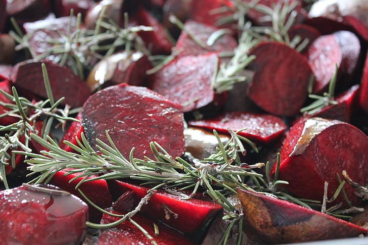 Красная свекла, Розмари, продукты питания, питание