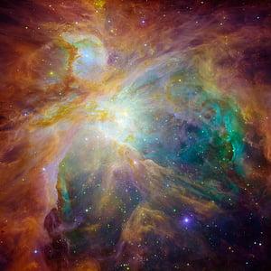 猎户座大星云, 空间, 宇宙, 银河, ngc 1976, 弥漫, m42