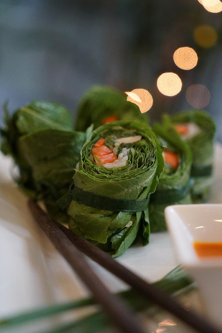 Vijetnam, vijetnamski, jesti, Spring rolls, ljeto pecivo, Frisch, ukusna