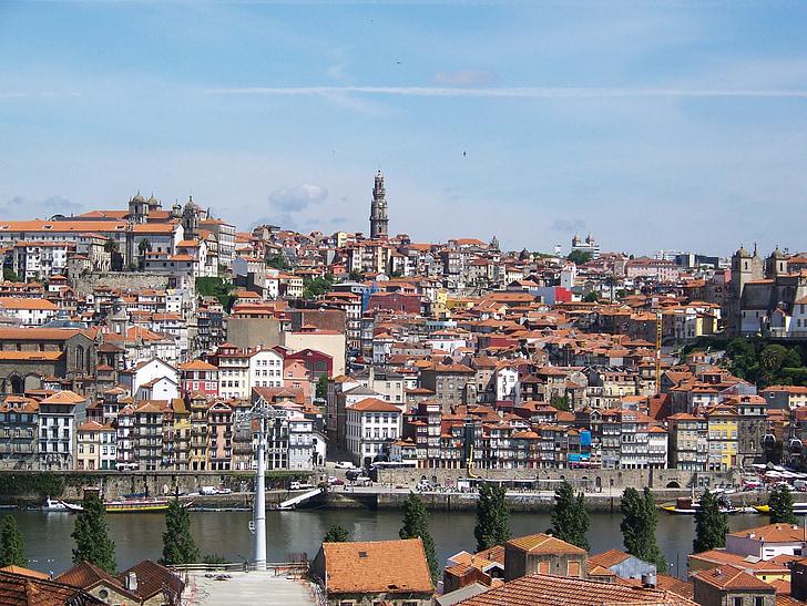 Port, Portugal, City, veini