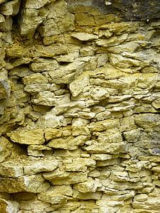 pedra calcària, jura blanc, capes, gebankt, calç, Pedrera, pedra