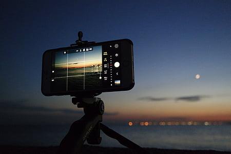õhtul, iPhone, Makro, Ocean, foto, Fotograafia, Sea
