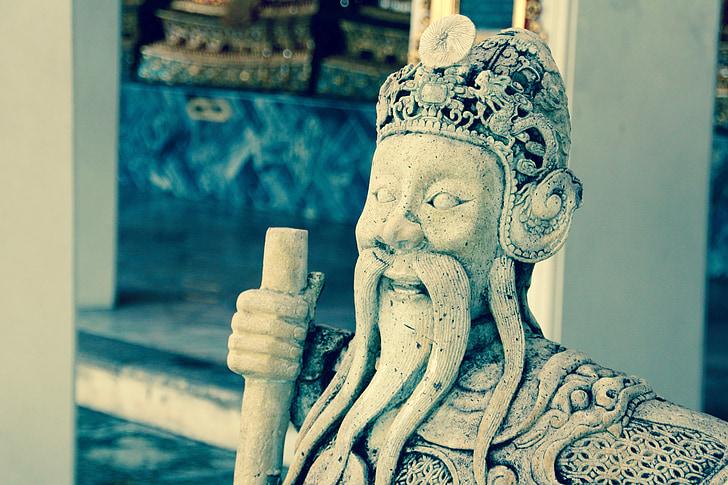 Bangkok, Buddha, meditation, buddhisme, Thailand, Asien, Temple