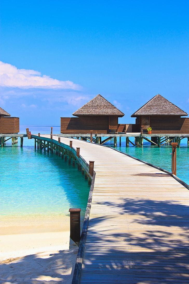 Veligandu illa, Maldives, oceà, illa, llacuna, Turisme, relaxació