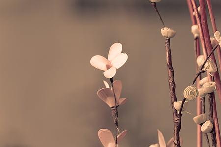 flor, flor artificial, bella flor