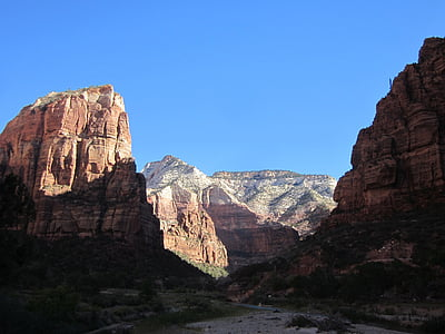 zion, canyons, zion national park, red rock, landscape, wilderness, scenery