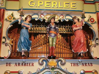 òrgan barril, òrgan, orgue de carrer, història