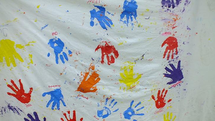hands, community, together